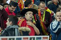 "Spain's supporter ""Manolo el del Bombo"" during the match of European qualifying round between Spain and Macedonia at Nuevo Los Carmenes Stadium in Granada, Spain. November 12, 2016. (ALTERPHOTOS/Rodrigo Jimenez)"