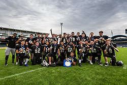Kent Exiles U19 Britbowl Champions - Mandatory by-line: Jason Brown/JMP - 27/08/2016 - AMERICAN FOOTBALL - Sixways Stadium - Worcester, England - Kent Exiles v East Kilbride Pirates - BAFA Britbowl Finals Day