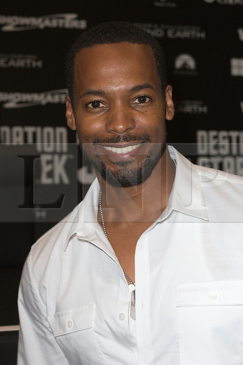 © Licensed to London News Pictures. 03/10/2014. London, England. Actor: Anthony Montgomery (Star Trek: Enterprise). Star Trek actors attend photocalls on the first day of Star Trek Destinations 3 at the Excel Exhibition Centre in East London.  Photo credit: Bettina Strenske/LNP