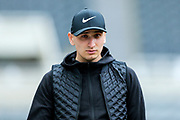 Jonjo Shelvey (#8) of Newcastle United arrives ahead of the Premier League match between Newcastle United and Crystal Palace at St. James's Park, Newcastle, England on 6 April 2019.