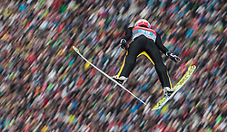 06.01.2016, Olympiaschanze, Garmisch Partenkirchen, GER, FIS Weltcup Ski Sprung, Vierschanzentournee, Bewerb, im Bild Gregor Deschwanden (SUI) // Gregor Deschwanden of Switzerland during his Competition Jump of Four Hills Tournament of FIS Ski Jumping World Cup at the Olympiaschanze, Garmisch Partenkirchen, Germany on 2016/01/01. EXPA Pictures © 2016, PhotoCredit: EXPA/ JFK