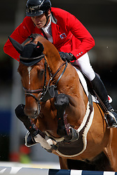 Muff Werner, SUI, Daimler<br /> FEI Nations Cup - CHIO Rotterdam 2017<br /> © Hippo Foto - Dirk Caremans<br /> Muff Werner, SUI, Daimler
