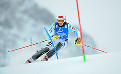 29.12.2014, Hohe Mut, Kühtai, AUT, FIS Ski Weltcup, Kühtai, Slalom, Damen, 1. Durchgang, im Bild Christina Geiger (GER) // Christina Geiger of Germany in action during 1st run of Ladies Slalom of the Kuehtai FIS Ski Alpine World Cup at the Hohe Mut Course in Kuehtai, Austria on 2014/12/29. EXPA Pictures © 2014, PhotoCredit: EXPA/ Erich Spiess