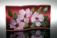 Hand-crafted Glasswork by Karen Moyer