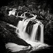 The Falls of Rogie, on the Black Water (a river), not too far from Inverness, Scotland
