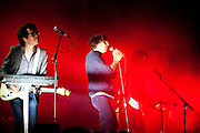 Phoenix band performs live concert at the SOS festival- Murcia