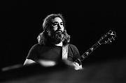 Jerry Garcia at The Grateful Dead concert in Egypt 1978