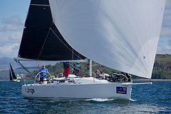 Pelle P Kip Regatta 2019 Day 1<br /> <br /> Light and bright conditions for the opening racing on the Clyde keelboat season<br /> GBR8543R, Jings, Robin Young, CCC, J109