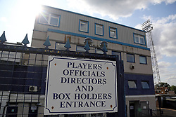 A general view of the Roots Hall entrance home of Southend United - Mandatory by-line: Joe Dent/JMP - 20/08/2019 - FOOTBALL - Roots Hall - Southend-on-Sea, England - Southend United v Peterborough United - Sky Bet League One