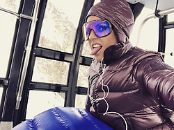 """Heidi Klum releases a photo on Instagram with the following caption: """"Baby its cold outside ....\ud83c\udfb5\ud83c\udfb6"""". Photo Credit: Instagram *** No USA Distribution *** For Editorial Use Only *** Not to be Published in Books or Photo Books ***  Please note: Fees charged by the agency are for the agency's services only, and do not, nor are they intended to, convey to the user any ownership of Copyright or License in the material. The agency does not claim any ownership including but not limited to Copyright or License in the attached material. By publishing this material you expressly agree to indemnify and to hold the agency and its directors, shareholders and employees harmless from any loss, claims, damages, demands, expenses (including legal fees), or any causes of action or allegation against the agency arising out of or connected in any way with publication of the material."""
