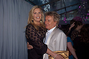 Penny Lancaster; Rod Stewart;, Glamour Women of the Year Awards 2011. Berkeley Sq. London. 9 June 2011.<br /> <br />  , -DO NOT ARCHIVE-© Copyright Photograph by Dafydd Jones. 248 Clapham Rd. London SW9 0PZ. Tel 0207 820 0771. www.dafjones.com.
