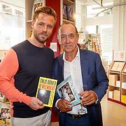 NLD/Amsterdam/20150612 - Boekpresentatie Thijs Römer en bladpresentatie Wendy van Dijk, Thijs en vader Peter Römer