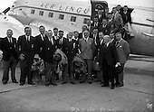 1952 Irish Rugby Team leaves for Argentina