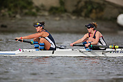 Crew: 96 - Rutherfurd / Cerasuolo - Putney Town Rowing Club - W 2- Club <br /> <br /> Pairs Head 2020