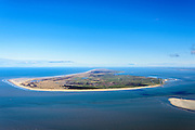 Nederland, Friesland, Ameland, 28-02-2016; Ameland gezien vanaf Terschelling.<br /> Wadden island Ameland.<br /> <br /> luchtfoto (toeslag op standard tarieven);<br /> aerial photo (additional fee required);<br /> copyright foto/photo Siebe Swart