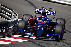 May 27, 2017 - Monte-Carlo, Monaco - 55 SAINZ Carlos from Spain of Toro Rosso STR12 team Toro Rosso during the Monaco Grand Prix of the FIA Formula 1 championship, at Monaco on 27th of 2017. (Credit Image: © Xavier Bonilla/NurPhoto via ZUMA Press)