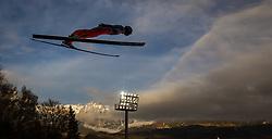 06.01.2014, Paul Ausserleitner Schanze, Bischofshofen, AUT, FIS Ski Sprung Weltcup, 62. Vierschanzentournee, Probesprung, im Bild Wolfgang Loitzl (AUT) // Wolfgang Loitzl (AUT) during Trial Jump of 62nd Four Hills Tournament of FIS Ski Jumping World Cup at the Paul Ausserleitner Schanze, Bischofshofen, Austria on 2014/01/06. EXPA Pictures © 2014, PhotoCredit: EXPA/ JFK