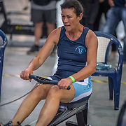 Amanda Puddle FEMALE HEAVYWEIGHT Masters D 1K Race #8  11:00am<br /> <br /> <br /> www.rowingcelebration.com Competing on Concept 2 ergometers at the 2018 NZ Indoor Rowing Championships. Avanti Drome, Cambridge,  Saturday 24 November 2018 © Copyright photo Steve McArthur / @RowingCelebration