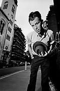 Tom Waits 1985 LOndon  Photosession