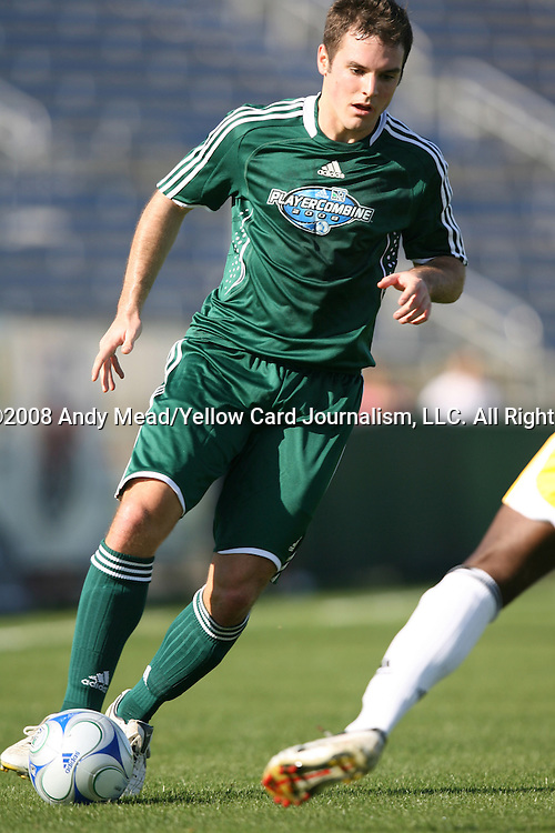 12 January 2008: Kevin Forrest. The 2008 MLS Player Combine for players eligible to be drafted into the league was held as a series of doubleheaders at Lockhart Stadium in Fort Lauderdale, Florida.