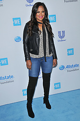 Laila Ali arrives at We Day California 2017 held at The Forum in Inglewood, CA on Thursday, April 27, 2017. (Photo By Sthanlee B. Mirador) *** Please Use Credit from Credit Field ***
