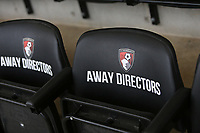 Football - 2017 / 2018 Premier League - AFC Bournemouth vs. Arsenal<br /> <br /> A view of the away directors seat at Bournemouth before Arsenal Manager Arsene Wenger takes his place in the stand at Dean Court (Vitality Stadium) Bournemouth <br /> <br /> COLORSPORT/SHAUN BOGGUST
