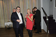 TOM WATSON; DOTTI IRVING, The 2011 Groucho Club Maverick Award. The Groucho Club. Soho, London. 14 November 2011. <br /> <br />  , -DO NOT ARCHIVE-© Copyright Photograph by Dafydd Jones. 248 Clapham Rd. London SW9 0PZ. Tel 0207 820 0771. www.dafjones.com.