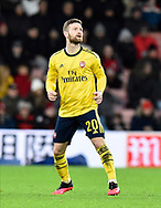 Shkodran Mustafi (20) of Arsenal during the The FA Cup match between Bournemouth and Arsenal at the Vitality Stadium, Bournemouth, England on 27 January 2020.