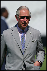 May 25, 2017 - London, London, United Kingdom - Image ©Licensed to i-Images Picture Agency. 25/05/2017. London, United Kingdom. ..Prince Charles launches the ICC Champions Trophy at The Kennington Oval, London, UK...The Prince meets members of eight teams from eight local primary schools taking part in the cricket competition at The Oval...Picture by Ben Stevens / i-Images (Credit Image: © Ben Stevens/i-Images via ZUMA Press)