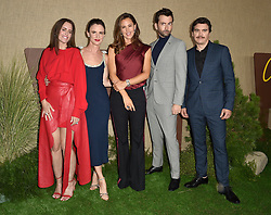Juliette Lewis, Ione Skye, Jennifer Garner, David Tennant and Arturo Del Puerto attend HBO's Los Angeles premiere of Camping at Paramount Studios on October 10, 2018 in Los Angeles, California. Photo by Lionel Hahn/ABACAPRESS.COM