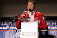 30 May 2012: 2012 Inductee Tony Meola. The 2012 National Soccer Hall of Fame Induction Ceremony was held at Fedex Field in Landover, Maryland before a men's international friendly soccer match between the United States and Brazil.