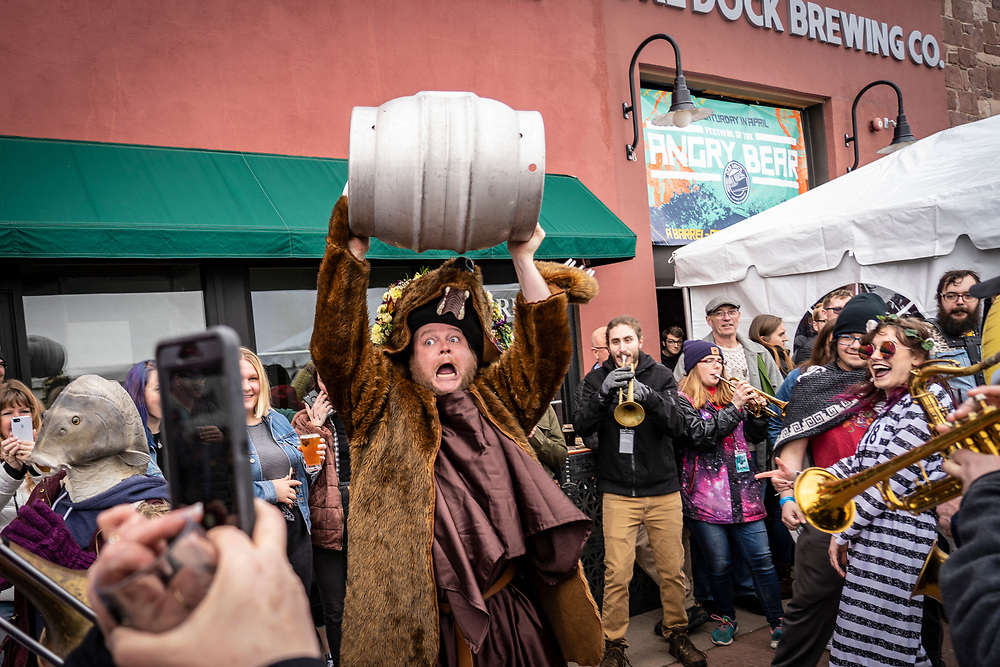 Scenes from the Festival of the Angry Bear in Marquette, Michigan.