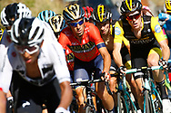 Vincenzo Nibali (ITA - Bahrain - Merida), Daniel Martin (IRL - UAE Team Emirates) during the 105th Tour de France 2018, Stage 11, Alberville - La Rosiere Espace Bernardo (108,5 km) on July 18th, 2018 - Photo Luca Bettini / BettiniPhoto / ProSportsImages / DPPI