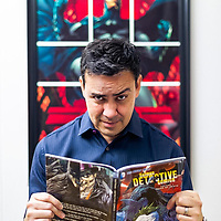 Comic book artis and writert Tony Daniel