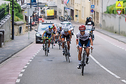 Ashleigh Moolman Pasio attacks the final time up the Cauberg 0 at Boels Hills Classic 2016. A 131km road race from Sittard to Berg en Terblijt, Netherlands on 27th May 2016.