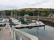 Glenarm Marina new pontoon