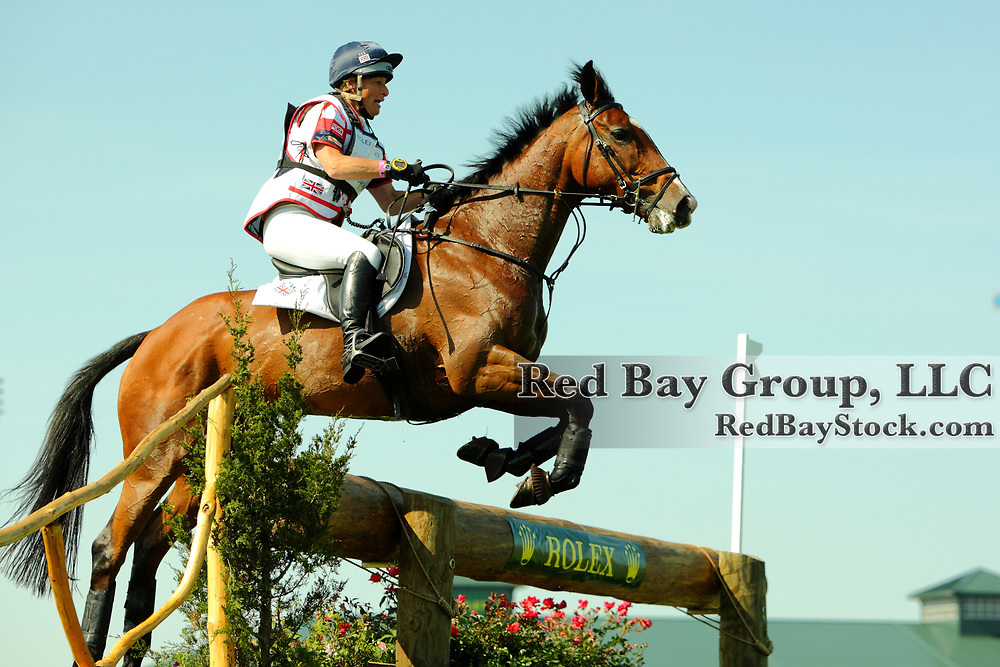 Mary King and Kings Temptress at the 2011 Rolex Kentucky Three-Day Eventing in Lexington, KY.