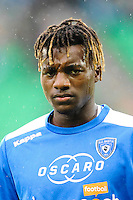 Allan SAINT MAXIMIN of Bastia during the Ligue 1 match between AS Saint Etienne and Bastia at Stade Geoffroy-Guichard on September 18, 2016 in Saint-Etienne, France. (Photo by Jean Paul Thomas/Icon Sport)
