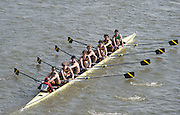 Chiswick, London, Great Britain.<br /> Shiplake College.Champ eight. competing at the 2016 Schools Head of the River Race, Reverse Championship Course Mortlake to Putney. River Thames.<br /> <br /> Thursday  17/03/2016<br /> <br /> [Mandatory Credit: Peter SPURRIER;Intersport images]