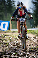 Mina Ricci (USA) at the 2018 UCI MTB World Championships - Lenzerheide, Switzerland