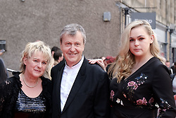 Edinburgh International Film Festival 2019<br /> <br /> Mrs Lowry And Son (World Premiere, closing night gala)<br /> <br /> Pictured: Joanne Pearce, Director Adrian Noble and Rose Noble<br /> <br /> Aimee Todd | Edinburgh Elite media