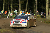 Motor<br /> Foto: Dppi/Digitalsport<br /> NORWAY ONLY<br /> <br /> MOTORSPORT - WRC 2007 - WALES RALLY - CARDIFF 29/11 TO 02/12/2007 <br /> <br /> ANDREAS MIKKELSEN (NOR) - OLA FLONE / FORD FOCUS ES WRC 04 - ACTION