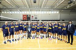 2019 VOLLEYBALL WOMEN'S EUROPEAN CHAMPIONSHIP<br /> MEDIA MEETING DAY<br /> ANKARA (TURKEY) SEPTEMBER 6TH, 2019<br /> AMBASSADOR OF ITALY MASSIMO GAIANI VISITS TEAM ITALY
