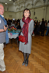 LADY VICTORIA GETTY at a lunch in aid of the charity African Solutions to African Problems (ASAP) held at the Royal Horticultural Hall, Vincent Square, London on 19th May 2016.