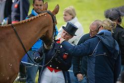 "Phillips Zara (GBR) - Toytown<br /> Granddauchter of Queen Elisabeth of England<br /> ""The Mitsubishi Motors Badminton Horse Trials""<br /> CCI**** Badminton 2009<br /> © Dirk Caremans"