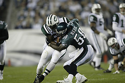 26 October 2003: The Philadelphia Eagles defeated the New York Jets 24-17 at Lincoln Financial Field in Philadelphia, PA...Mandatory Credit: Drew Hallowell