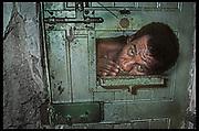 "Solitary confinement, São Paulo, Brazil  -  ""Where Little Children Suffer"" THE OBSERVER MAGAZINE"
