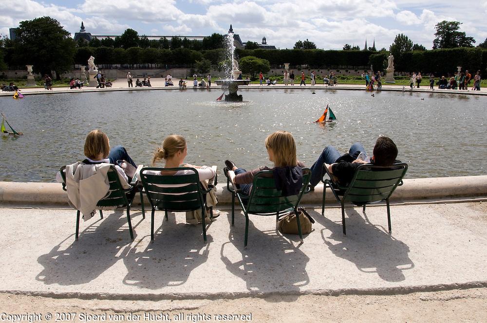 Arround the Louvre, Paris, France.