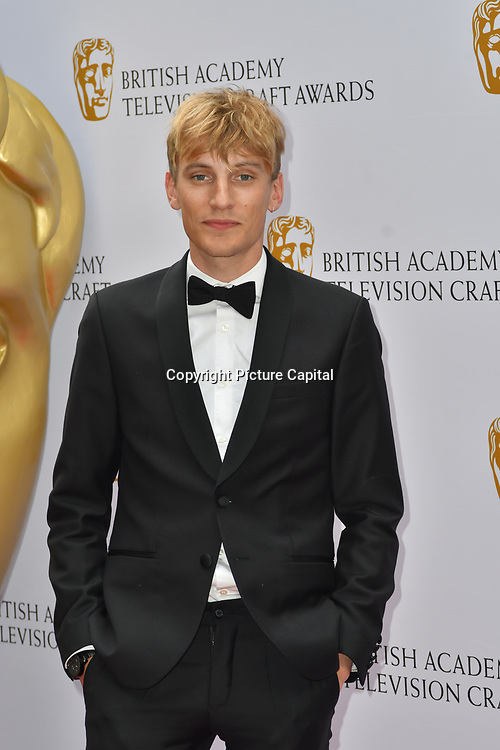 Charlie Cooper Arrivers at the British Academy Television Craft Awards on 28 April 2019, London, UK.