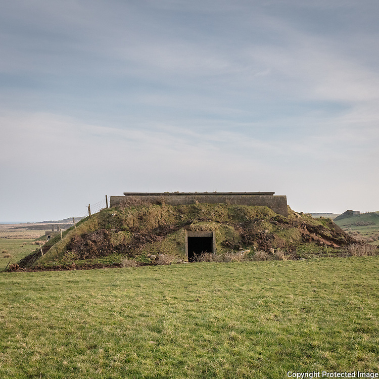RAF North Cairn III, WWII Chain Home Radar Station bunker, Dumfries and Galloway, Scotland.